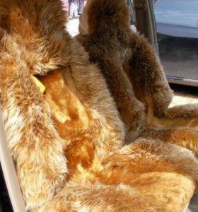 Авто чехлы мех меховые накидки