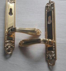 Ручка с замком  Италия золото