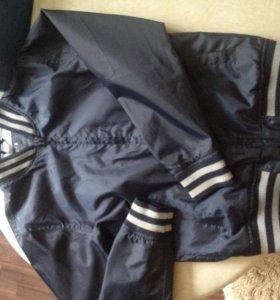 Куртка детская, ветровка, подкладка хлопок
