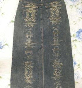 Юбка джинсовая на 42-44 р-р