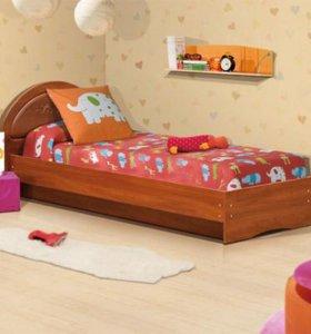 Кровать на швеллерах МДФ