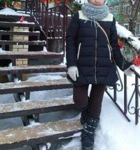 Курточка весна, теплая зима  Угги