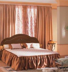 Кровать на швеллерах, МДФ