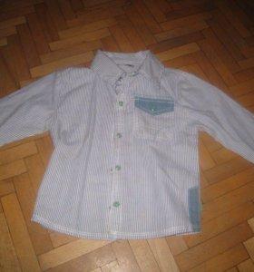 Детская рубашка 86 размер