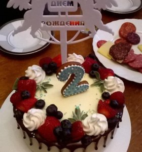 Топпер для торта