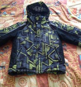 Куртка  зимняя длина рукава 60 см.