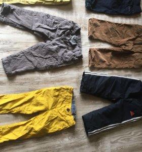 Детские штаны на мальчика с 6 до 24 м