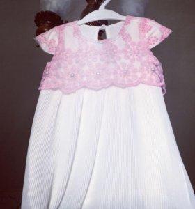 Праздничное нарядное платье на девочку