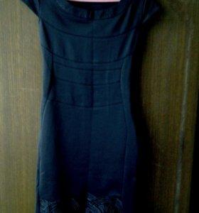 Платье женское, черное