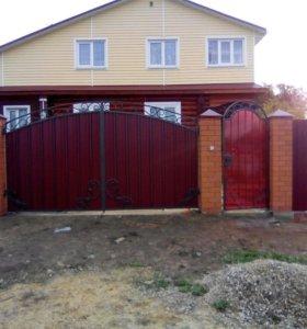 Всех типов ворот.Откатные и гаражное ворота