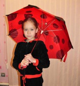 Зонт для девочки ЛедиБаг