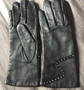 кожаные перчатки 6,5