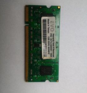 Память SODIMM DDR2 на ноутбук