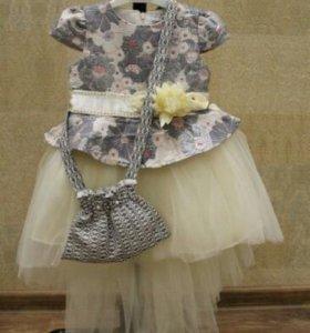 Детское платье. Новое