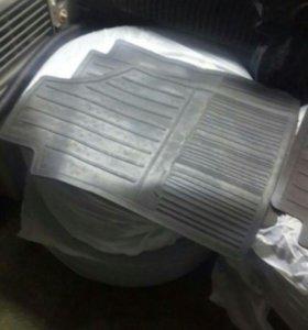 Коврики салона на Fiat 500