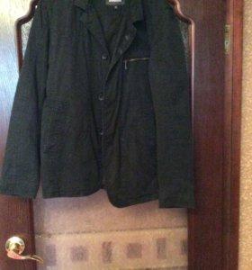 Мужской пиджак-ветровка