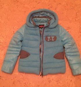 Куртка-пуховик 44р.зимняя