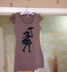 Платье тёпленькое