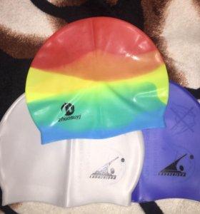 Резиновые детские шапочки для бассейна