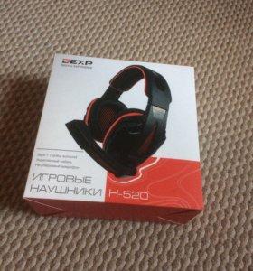 Наушники DEXP H-520 игровые в микрофоном