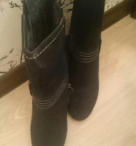 Ботинки зимние,  39
