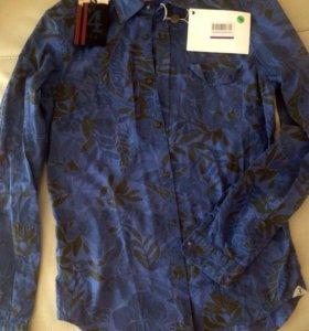 Итальянская мужская рубашка S-M