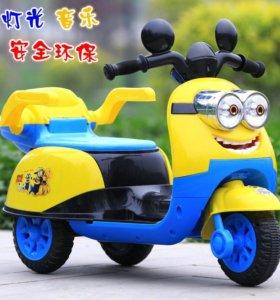 Электромобиль скутер