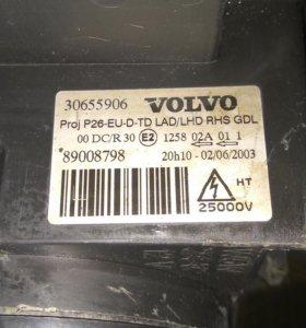Фары Volvo s60 2004год