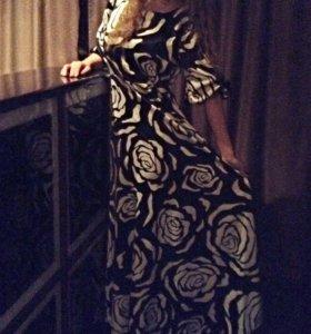 Платье в пол.