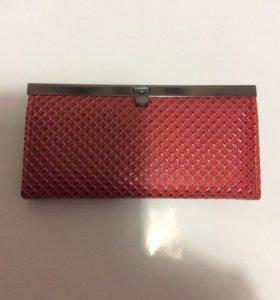 Кошелёк красный (новый в упаковке)