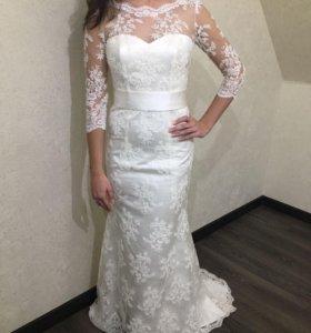 Шикарное свадебное платье Charline