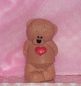 Мыло Мишка с сердечком