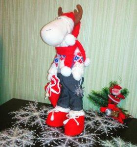 Лось Дед Мороз