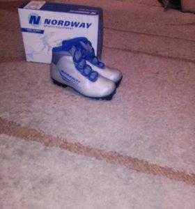 Ботинки для беговых лыж детские
