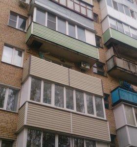 Балконы,окна.