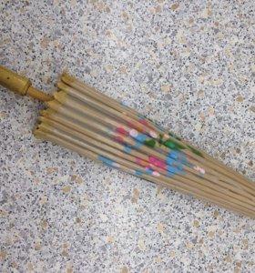 Китайский национальный зонт от солнца.