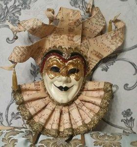 Маски ручной работы Венеция, одна маска 1500 рубле
