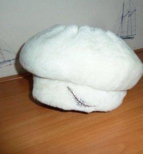 Новая шапка мутон