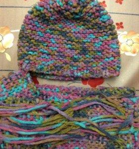 Шапки, шарфы, комплекты