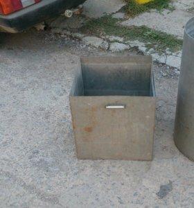 Бак из нержавеющей стали на 130 литров