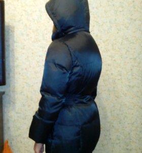 Пальто зимнее на девочку б/у