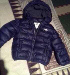Курточка на мальчика.на 1-1.5 лет