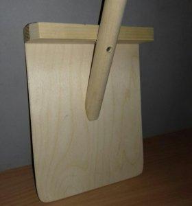Детская лопатка деревянная