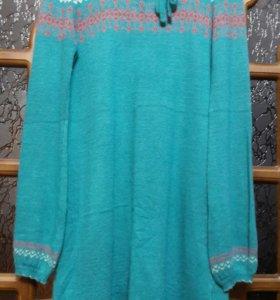 Платье новое! Вязаное зимнее.
