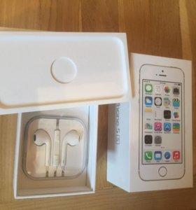 Коробка от iPhone 5s на 16Гб