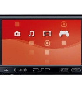 PSP с картой памяти на 16 и чехол