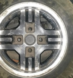 Литые диски на 13 мазда 4 шт. за