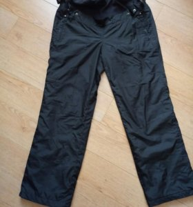 Тёплые зимние штаны для очень беременных