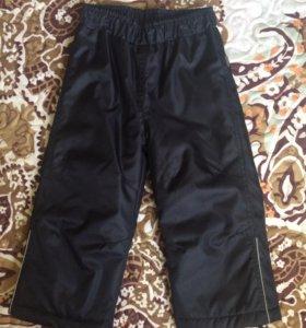 непромокаемые брюки Luhta утеплённые рост 92