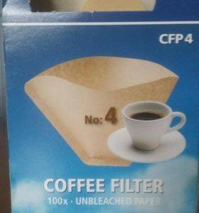 Одноразовые фильтры для кофе.